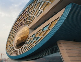 The Eye of Qatar Office building